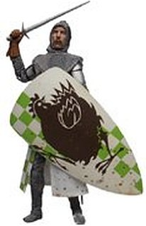 Monty Python & Holy Grail Eric Idle as Sir Robin 12 Figure