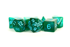 MDG 16mm - Stardust: Green w/Blue Numbers