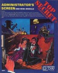 Top Secret - Administrator's Screen and Mini-Module 6601