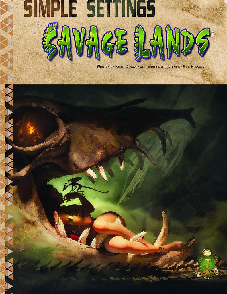 5E Simple Settings - Savage Lands