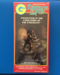 Grenadier Dragon Lords Encounter in the Catacombs of the Undercity Metal Boxed Set Wererats #2030 Sealed