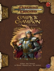 D&D 3.5 - Complete Champion Guide to Divine Heroes HC