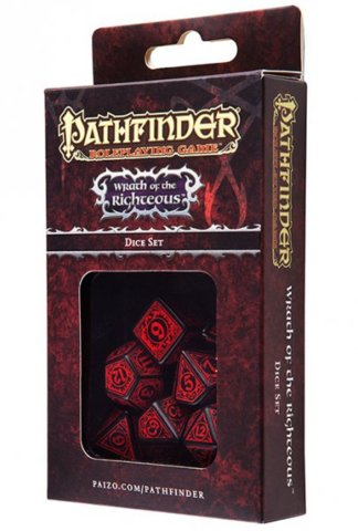 Pathfinder Dice Set Wrath of the Righteous