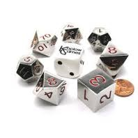 20mm Metal Polyhedral Dice