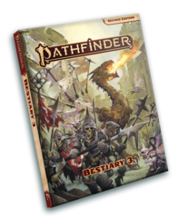 Pathfinder 2E - Bestiary 3 Pocket Edition 2107-PE