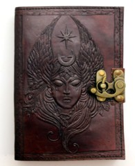 Moon Goddess Leather Journal 2723