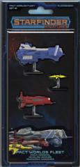 Starfinder Miniatures - Pact Worlds Fleet Set #1