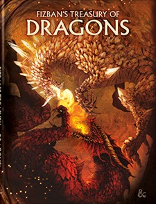 Dungeons and Dragons RPG: Fizban`s Treasury of Dragons - Alternate Cover