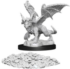 WZK 73852 - D&D Nolzur's Marvelous Unpainted Miniatures: Blue Dragon Wyrmling (2)