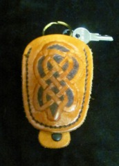 Nathan's Leatherworks Key Chain NL-02