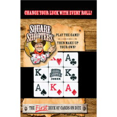 Square Shooters Deck of Dice