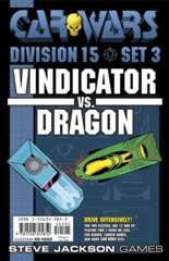 Car Wars - Division 15 Set 3 - Vindicator vs. Dragon 595