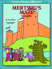 AD&D - Mertwig's Maze Gamefolio - 1038