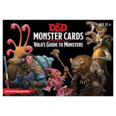 D&D 5E (GF9) - Monster Cards - Volo's Guide