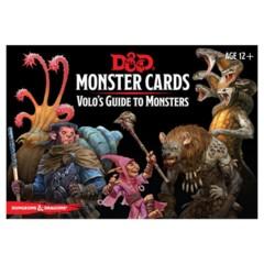 D&D 5E (GF9) - Monster Cards - Volo's Guide