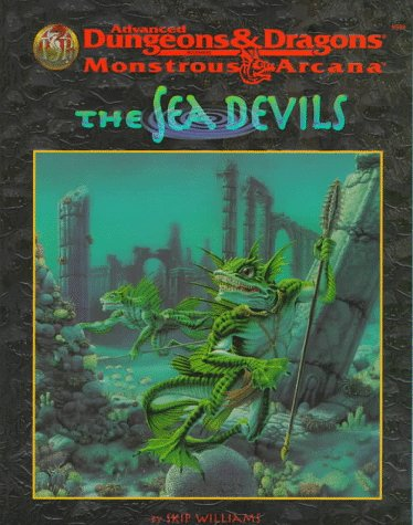 AD&D Monstrous Arcana - The Sea Devils 9539