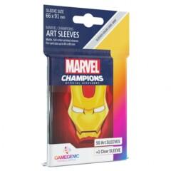 G10091 - Marvel Champions Art Sleeves - Iron Man