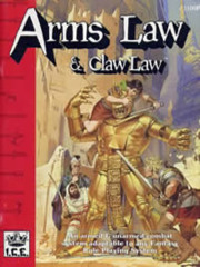 Rolemaster (2e) - Arms Law & Claw Law 1100