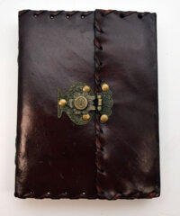 2886 - Leather Journal with Snap Closure