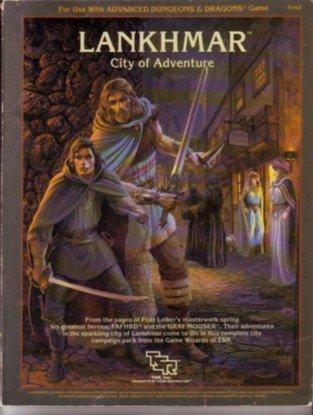 AD&D - Lankhmar - City of Adventure (1st Ed.) - 9162
