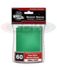 Monster Flat Matte YGO Size - Green