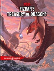 Dungeons and Dragons RPG: Fizban`s Treasury of Dragons