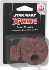 FFG SWZ09 - Star Wars X-Wing (2e) - Rebel Alliance Maneuver Dial Upgrade Kit