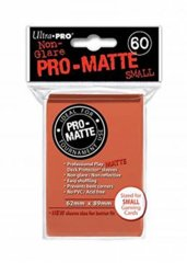 Ultra Pro - Matte Small Sleeves Peach 60 Ct.