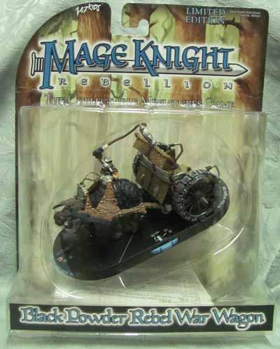 Mage Knight Black Powder Rebel War Wagon