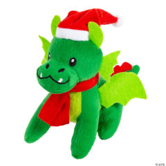 Christmas Dragon Plush