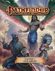 Pathfinder Campaign Setting - Faiths of Golarion 92112