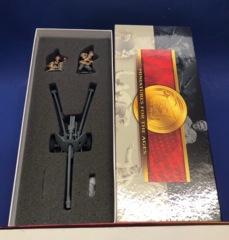 Conte WWII-032 German PAK 40 & SS CREW (2 Fig, Gun & Accessories) MIB