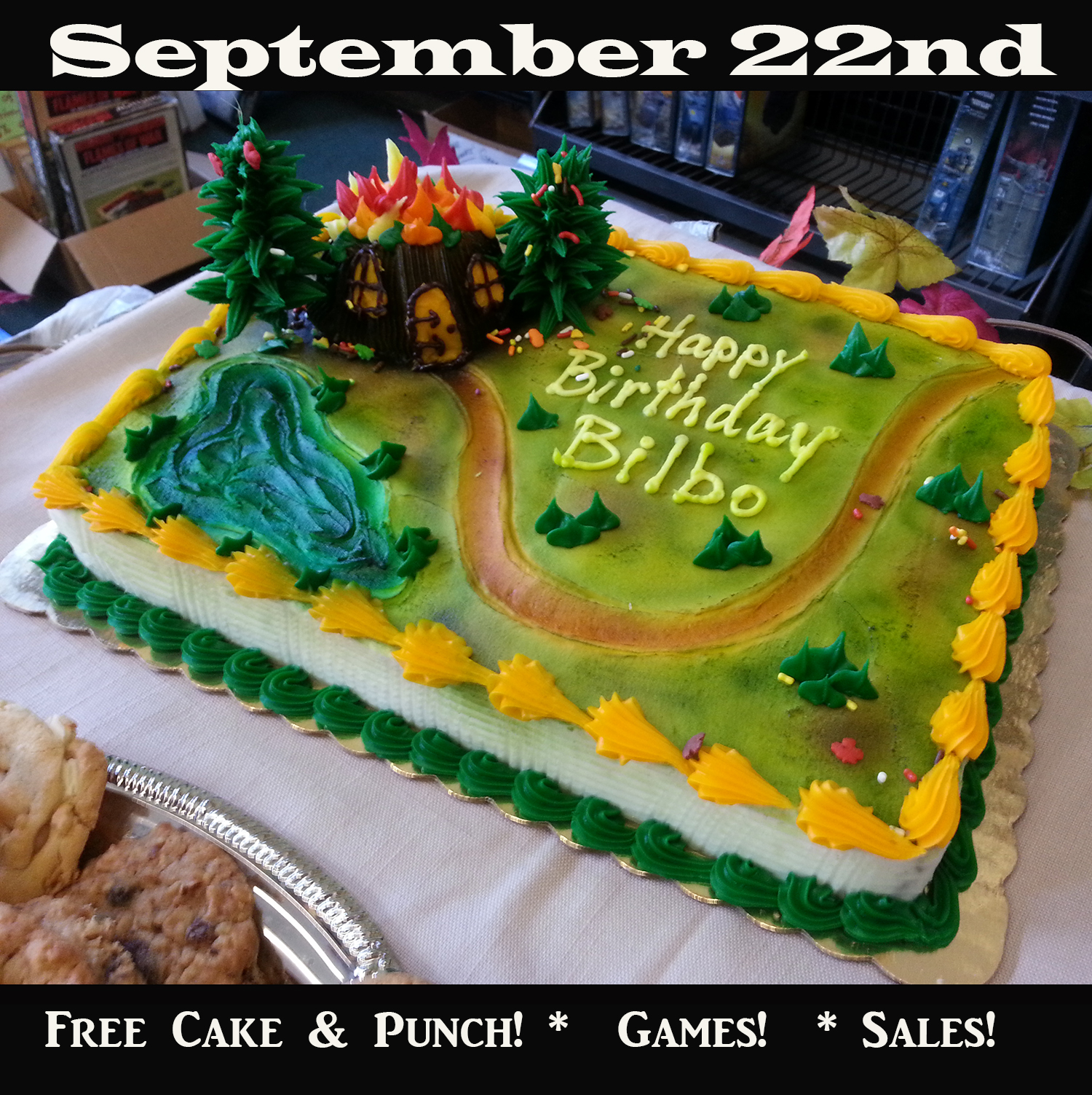 Bilbos Birthday Party Sept. 22nd at DOKS