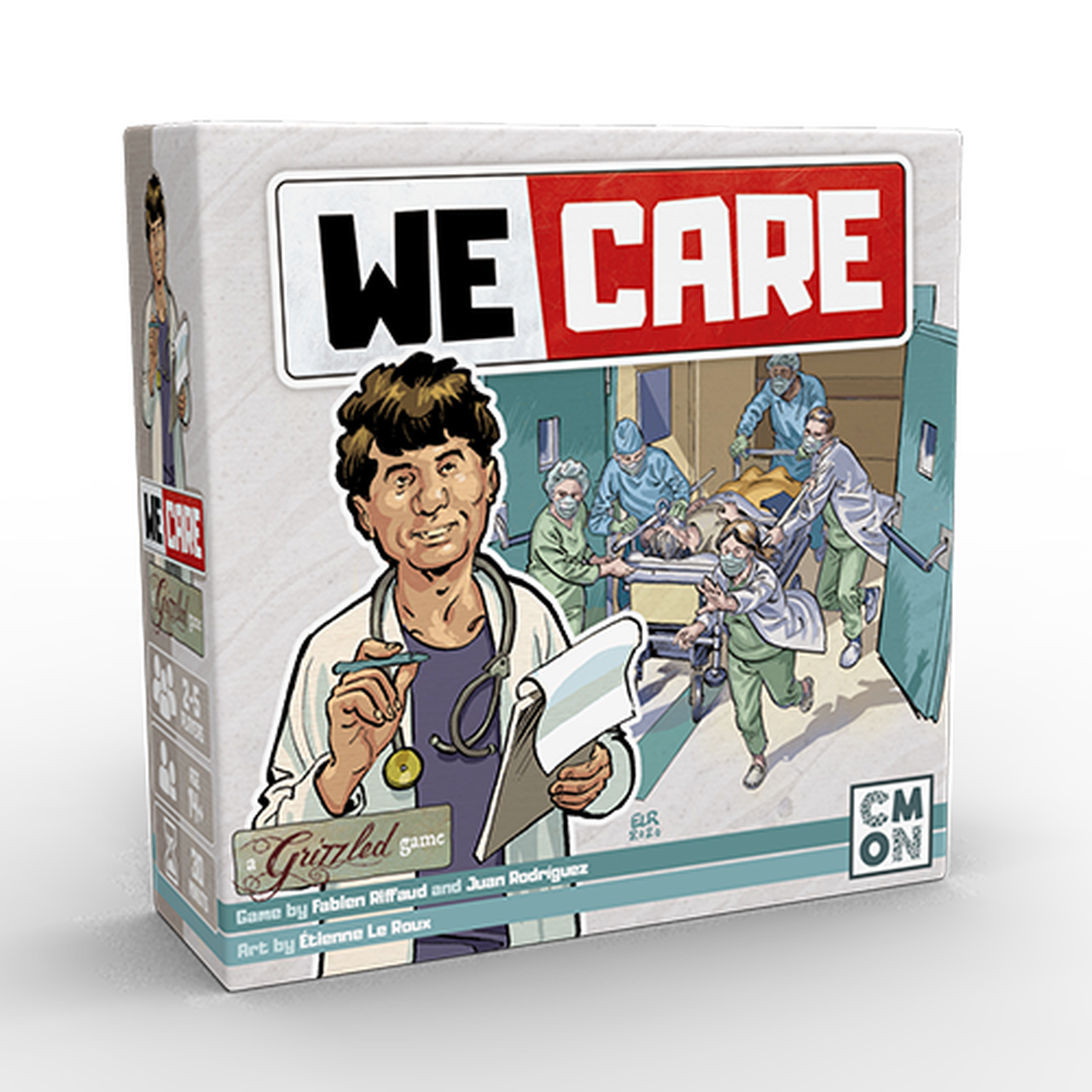 GRZ004 - The Grizzled: We Care