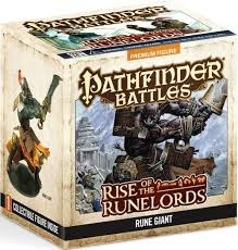 Pathfinder Battles: Rise of the Runelords Rune Giant