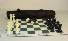 Tournament Chess Set in Travel Bag