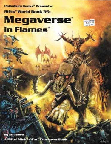 Megaverse in Flames (Rifts World Book 35)