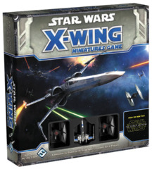 FFG SWX36 - Star Wars X-Wing Miniatures Game (2e): The Force Awakens - Core Set