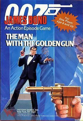 James Bond 007 Man with the Golden Gun Action Episode Game 1-Player Victory Games, Inc.