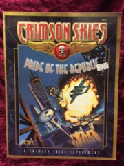 Crimson Skies Pride of the Republic (FASA) Supplemet