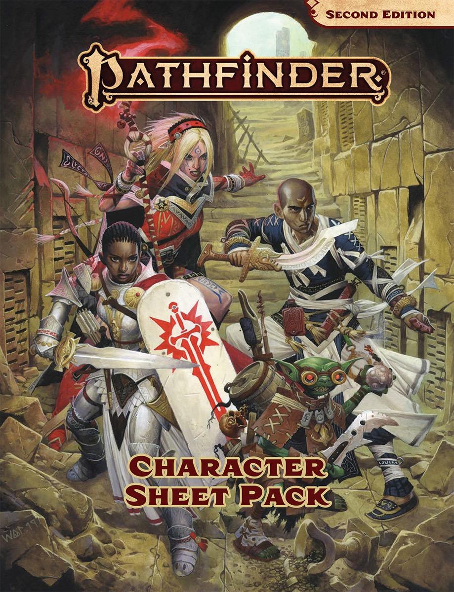 Pathfinder 2E - Character Sheet Pack