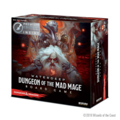 Dungeons & Dragons: Dungeon of the Mad Mage Board Game Premium