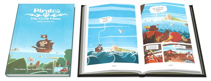 Graphic Novel Adventures: Pirates - The Great Chase