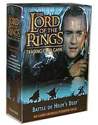 LOTR-TCG 2x Starter Decks: Legolas & Eowyn Battle of Helm's Deep