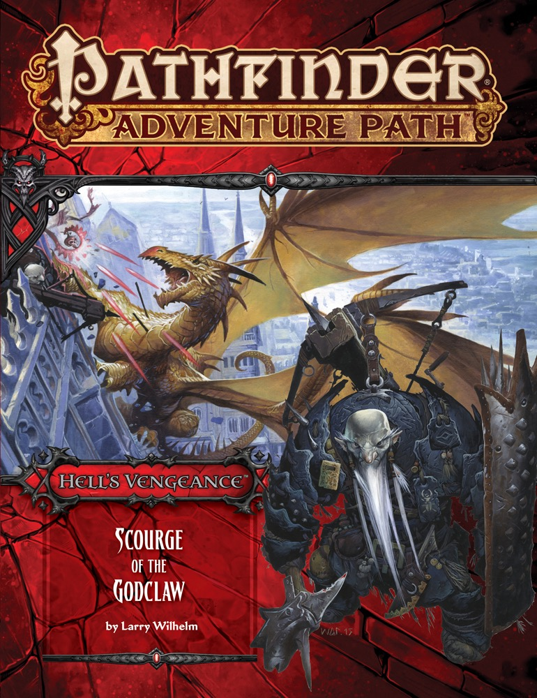 Pathfinder Adventure Path #107: Scourge of the Godclaw (Hells Vengeance) 5 of 6
