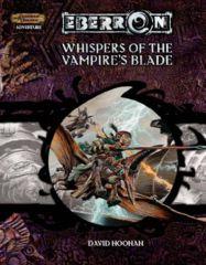 D&D 3.5 - Eberron - Whispers of the Vampire's Blade