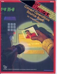 Top Secret /S.I. - TSAC3 Covert Operations Source Book 7626