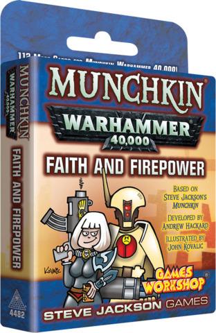 Munchkin Warhammer 40K - Faith and Firepower