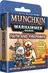 Munchkin Warhammer 40K - Faith and Firepower