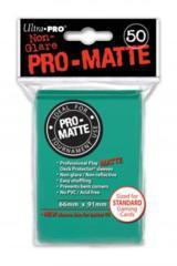 50ct Pro-Matte Aqua Standard Deck Protectors